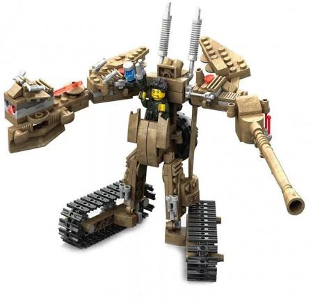 War Robotformat din 279 Piese de la KAZI model KY7706 poza 1