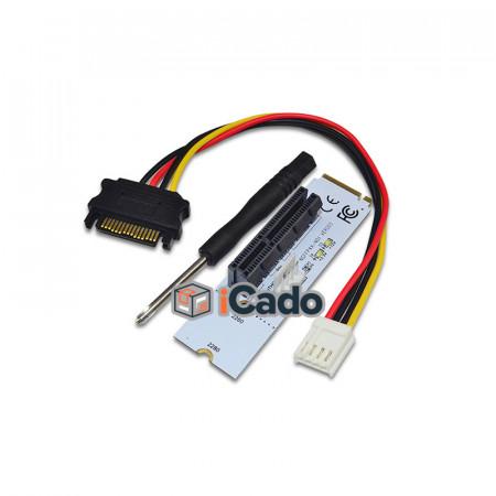 Adaptor / Riser M2 PCI-E 4x pentru slotul NGFF de pe placa de bază