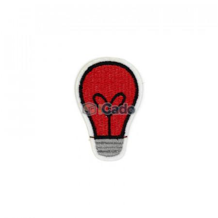 Emblema brodata in forma de bec 4x6cm
