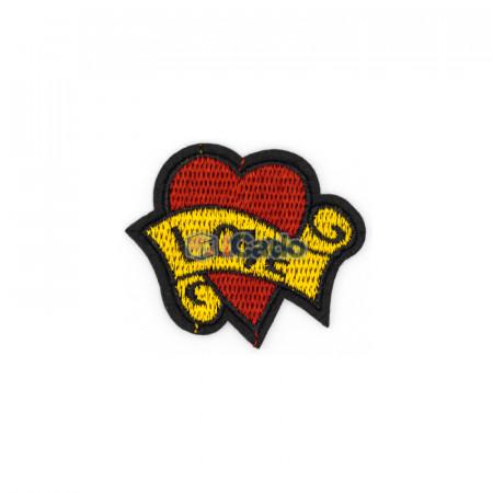 Emblema brodata Love 6x5cm