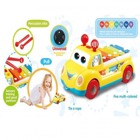 Mașină de tras cu pian Serinette Pull Car