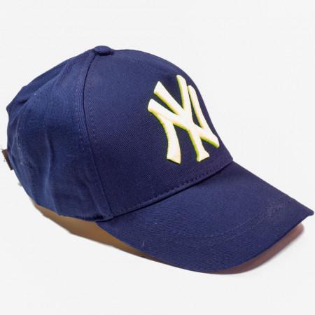 Șapcă albastră logo New York galben verde