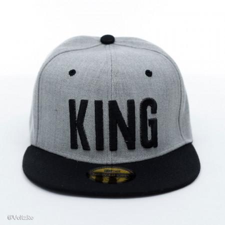 Șapcă logo King gri poza 2