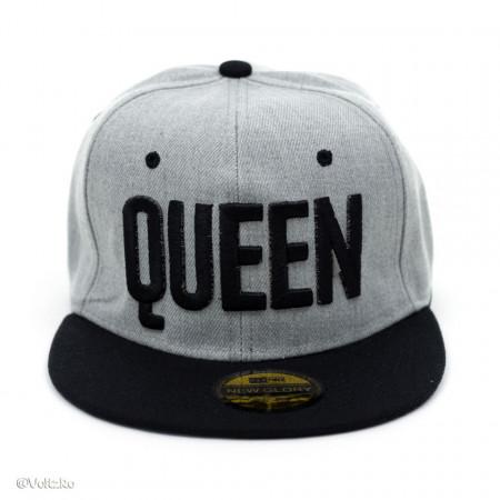 Șapcă logo Queen gri poza 2