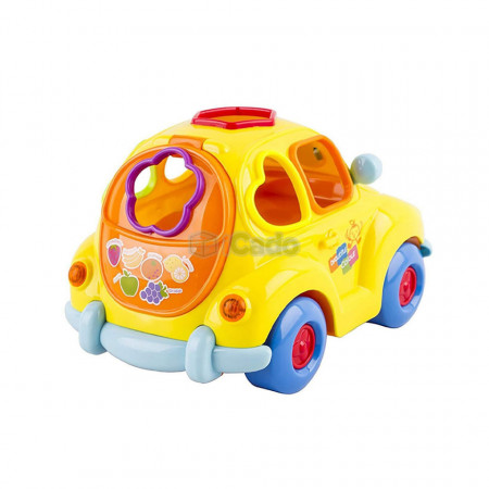 Sortator pentru copii Super Fun Fruit Car - Hola 516 poza 3