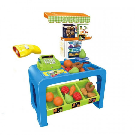 Supermarket de jucărie Let's come to shopping model 8728