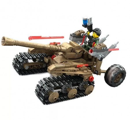 War Robotformat din 279 Piese de la KAZI model KY7706 poza 2