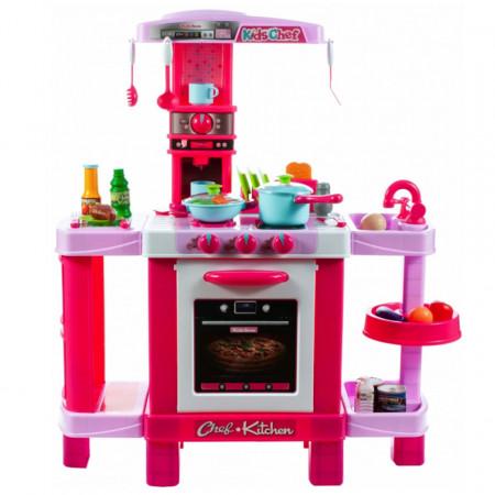 Bucătărie copii roz XXL Kids Cook model 008-938B