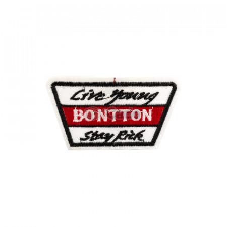 Emblema brodata Bontton 7.5x4cm
