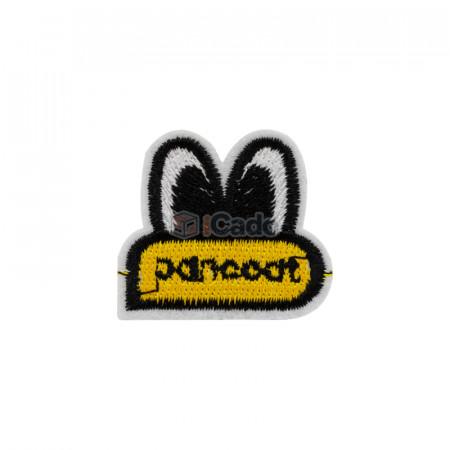 Emblema brodata pancoat 4x3.5cm