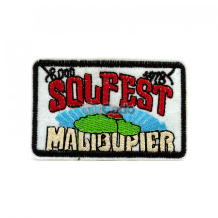 Emblema brodata SelFest 8x5cm