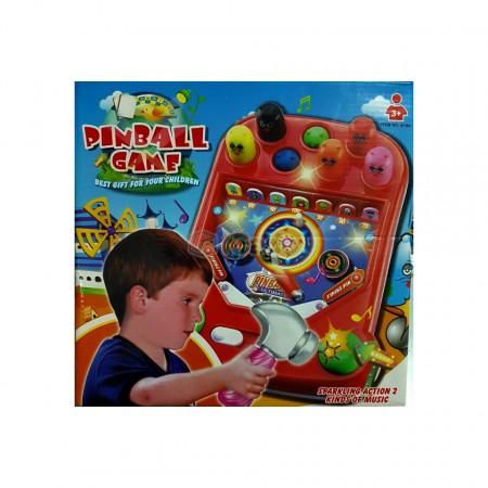 Joc Pinballcu Ciocan - 618A (3xAA) poza 4