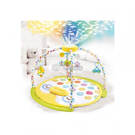 Saltea de joacă cu proiector și carusel Lay & Play model 8870 poza 1