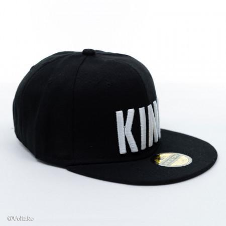 Șapcă logo King neagră poza 1