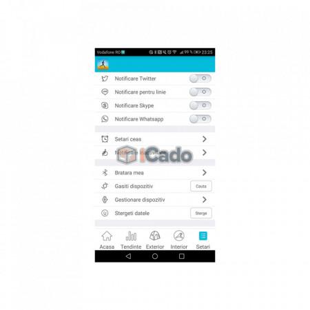 Brățară Fitness Roșie Letine Sistem: Andriod 4.3+ și iOS 8.0+ poza 7