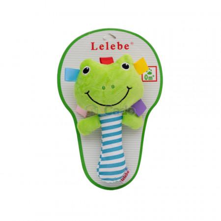 Broasca Chițăilă Jucărie de mână pentru bebeluși