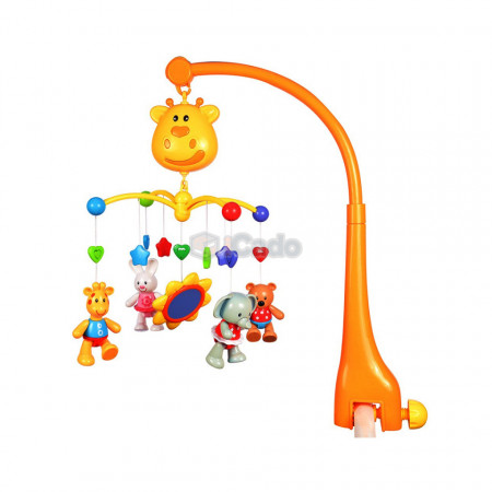 Carusel muzical Girafă pentru bebeluși GoodWay 6919 poza 1