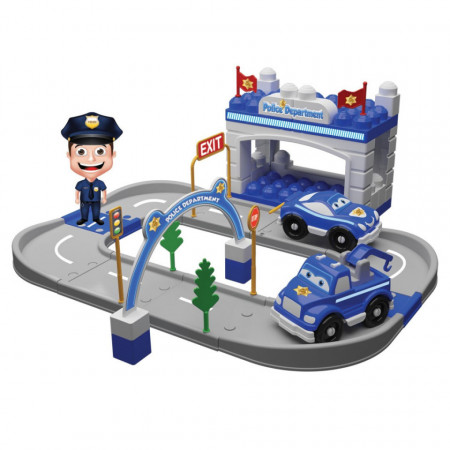 Departament de Poliție din 52 piese Magic Blocks