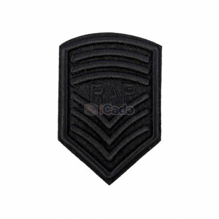 Emblema brodata RAP 5.5x8cm