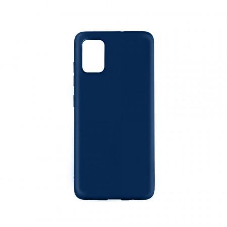Husă de protecție din silicon albastru pentru Samsung Galaxy A51