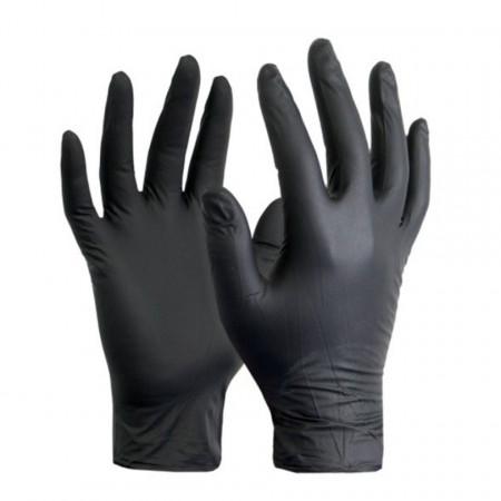 Mănuși LidoPack din Nitril nepudrate de unică folosință, mărime L - 100 bucăți