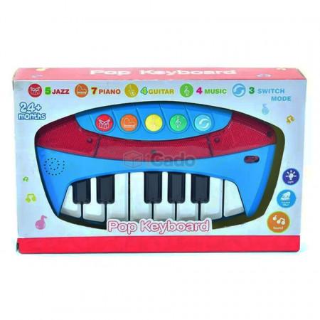 Pian electronic de jucărie cu 13 clape model 5400-27 poza 3