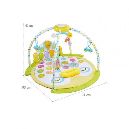Saltea de joacă cu proiector și carusel Lay & Play model 8870 poza 2