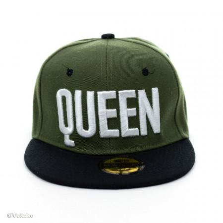 Șapcă logo Queen verde poza 2