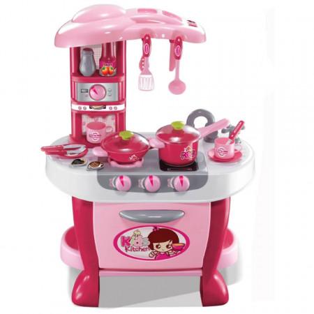 Bucătărie copii cu 31 accesorii Little Chef model 008-801