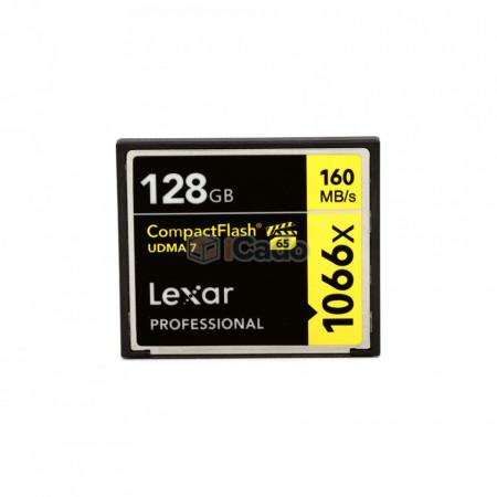 Card Compact Flash Lexar Professional 128GB 160MB/s 1066X (UDMA 7) poza 1