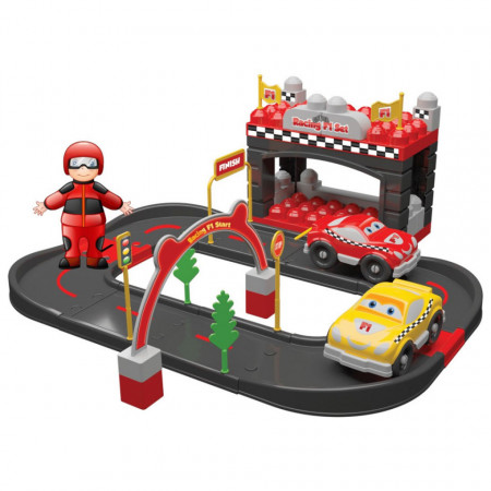 Departament F1 Racing din 50 piese Magic Blocks