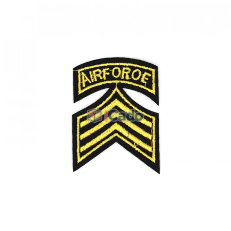 Emblema brodata Air Force 5x6.5cm