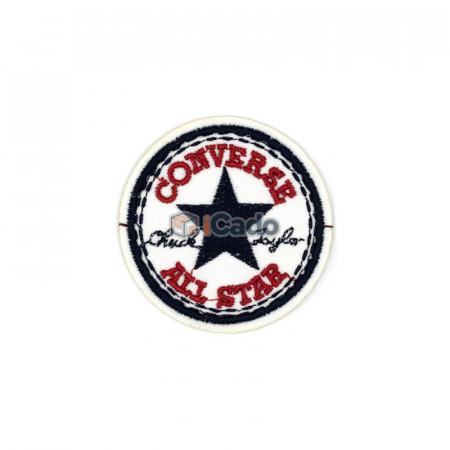 Emblema brodata cu Converse All Star 5.5x5.5cm
