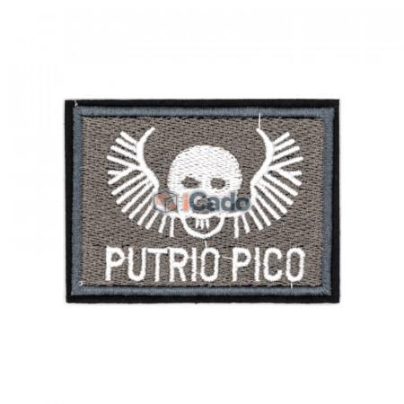 Emblema brodata Putrio Pico 7.5x5.5cm