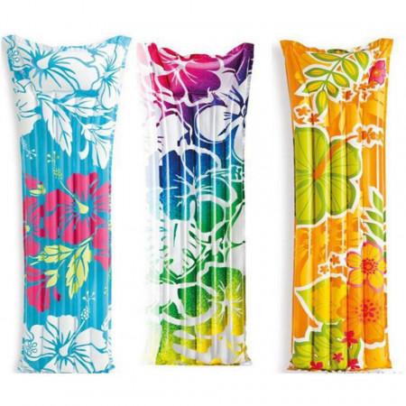 Saltea gonflabilă marca Intex dimensiune 183 x 69 cm Floral Multicolor poza 1