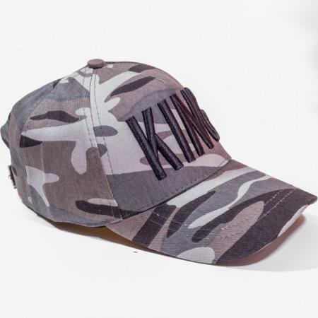 Șapcă army logo King negru