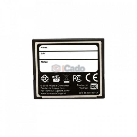 Card Compact Flash Lexar Professional 128GB 160MB/s 1066X (UDMA 7) poza 2
