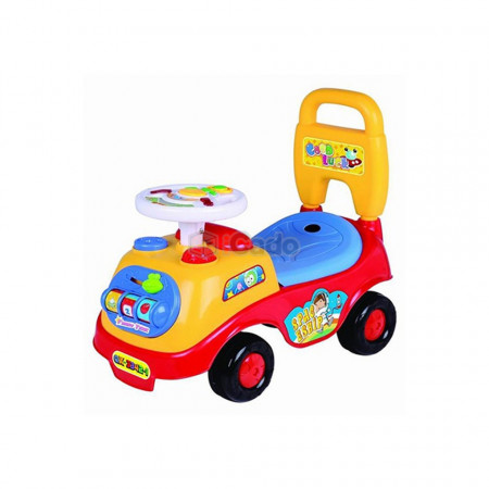 Mașină fără pedale roșie model Time Scooter QX-3342