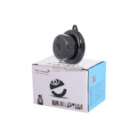 Mini cameră video E06 cu IP (DHCP) și WiFi 1080p poza 4