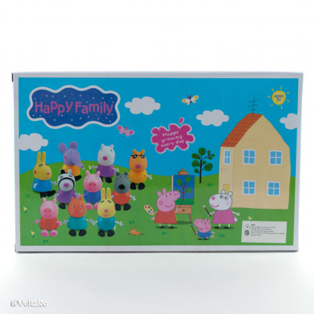 Purcelușii Peppa Pig - Set de 10 figurine poza 3