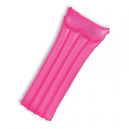 Saltea gonflabilă marca Intex dimensiune 183 x 76 cm NEON roz