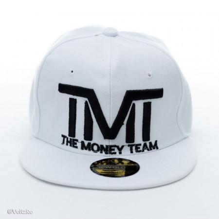 Șapcă logo The Money Team albă poza 2