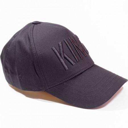 Șapcă neagră logo King negru