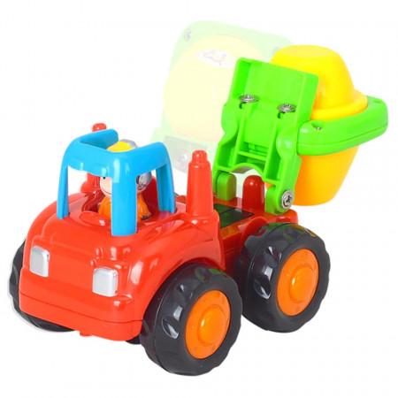 Set de 4 Vehicule Utilitare, model Hola 326 poza 4