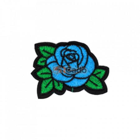 Trandafir brodat TB10 7 x 5.5 cm