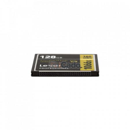 Card Compact Flash Lexar Professional 128GB 160MB/s 1066X (UDMA 7) poza 3