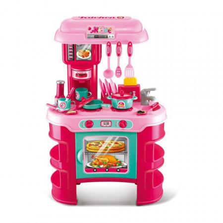 Set bucătărie copii cu 35 accesorii Little Chef model 008-906