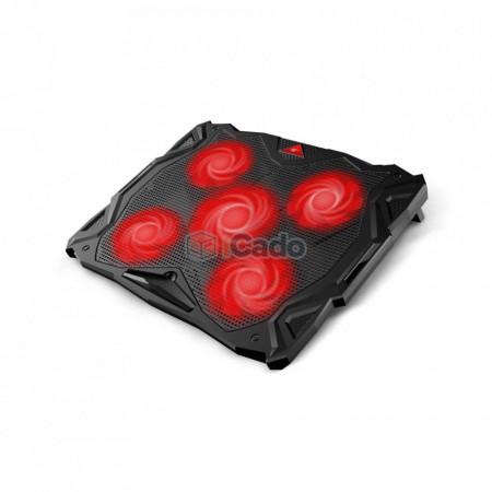 """Suport de răcire CoolCold K11 cu 5 ventilatoare pentru laptop-uri de 17"""" poza 1"""