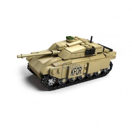 Tanc KFOR format din 311 Piese de tip LEGO de la KAZI model KY84045 poza 1