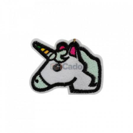 Unicorn brodat 6 x 4.5 cm